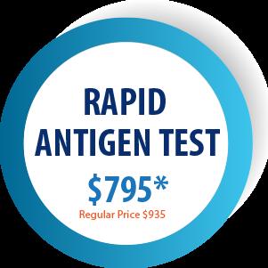 RAPID ANTIGEN TEST $795
