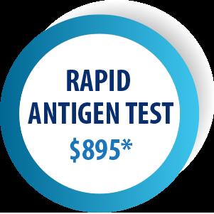 RAPID ANTIGEN TEST $895